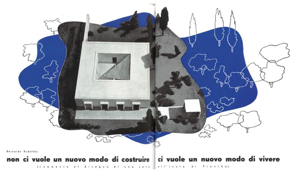 Rudofsky - villa sur l'île de Procida - Italie