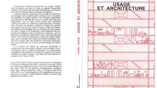 daniel pinson - usage et architecture