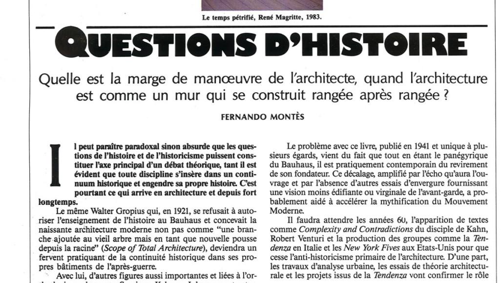 Fernando Montes - Pole Position - théorie histoire