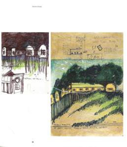 Aldo Rossi - maison villa et pavillon dans les bois - Borgo Ticino