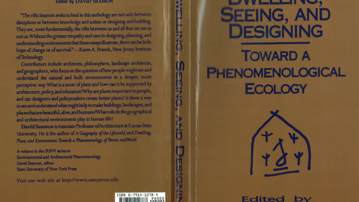 David Seamon - toward a phenomenological ecology