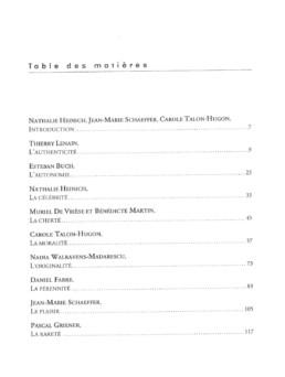 Talon Hugon - Schaeffer - Heinich - par delà le beau et le laid