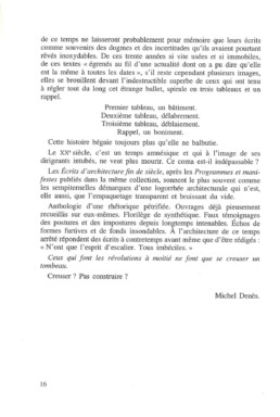 Michel Denès - form follows fiction