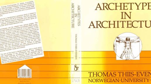 thomas thiis evensen - archetypes in architecture