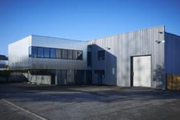 touton architectes - Bordeaux Tradition - façade - volume sur pilotis