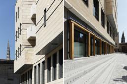 touton architectes - cursol - perspectives cathédrale - programme mixte - bureaux - logements