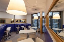 touton architectes - cursol - cafétéria - programme mixte - bureaux - logements