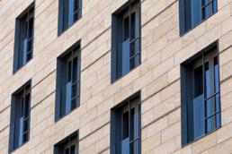 touton architectes - cursol - façade motif - programme mixte - bureaux - logements