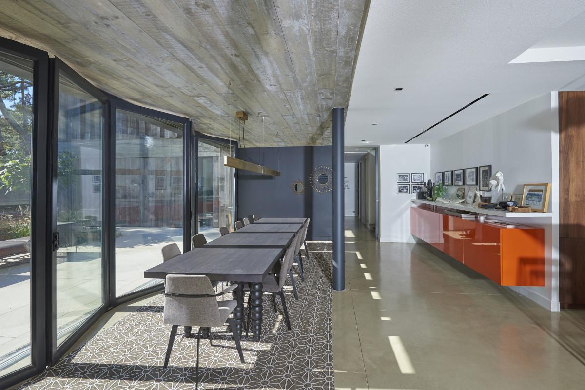 touton architectes - Eiders - villa - Cap Ferret - salle à manger