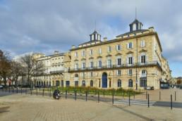 touton architectes - fenwick - rénovation - façade angle quai des chartrons - premier consulat des jeunes E.U.