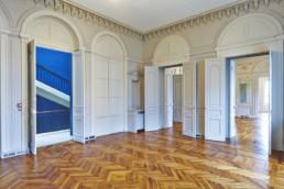 touton architectes - fenwick - rénovation - bureaux - parquet - moulures - menuiseries bois - premier consulat des jeunes E.U.