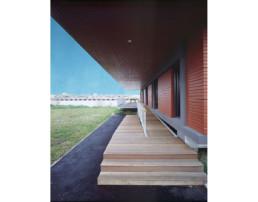 touton architectes - LD Vins - négoce - terrasse sur la Garonne