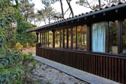 touton architectes - Macreuses - villa - Cap Ferret - bardage bois - menuiseries bois