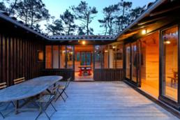 touton architectes - Macreuses - villa - Cap Ferret - terrasse