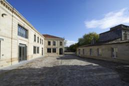 touton architectes - Mähler-Besse - négoce - cour