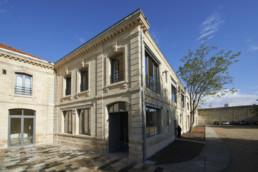 touton architectes - Mähler-Besse - négoce - façade sur angle