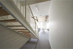 touton architectes - Mähler-Besse - négoce - escalier bureaux