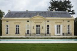 touton architectes - Pabus - maison - façade piscine ravalée