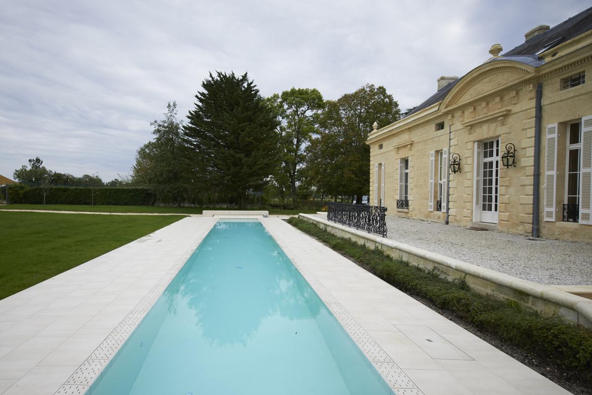 touton architectes - Pabus - maison - perspective piscine