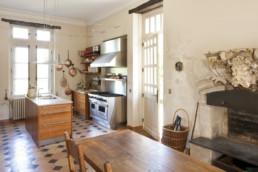 touton architectes - Petit Verdus - patrimoine - restauration château - cuisine