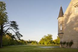 touton architectes - Petit Verdus - patrimoine - restauration château - façade angle