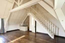 touton architectes - Petit Verdus - patrimoine - restauration château - salle de jeux - charpente bois