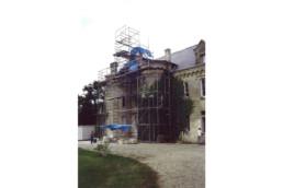touton architectes - Petit Verdus - patrimoine - restauration château - chantier