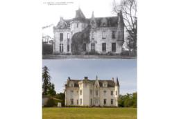 touton architectes - Petit Verdus - patrimoine - restauration château - état initial/restitué
