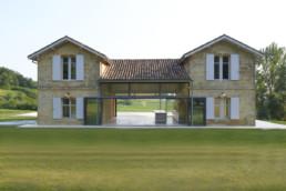 touton architectes - Picoron - maison d'été - façade rénovée - transparence