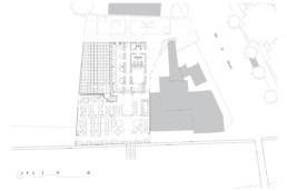 pinasse café - restaurant - plan phase 1