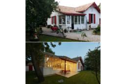 touton architectes - Saint-Henri - rénovation maison - avant/après - angle terrasse