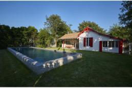 touton architectes - Saint-Henri - rénovation maison - extérieurs - piscine - terrasse