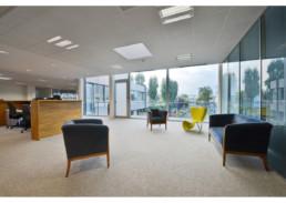 touton architectes - touton sa - bureaux - structure métallique - étage salon