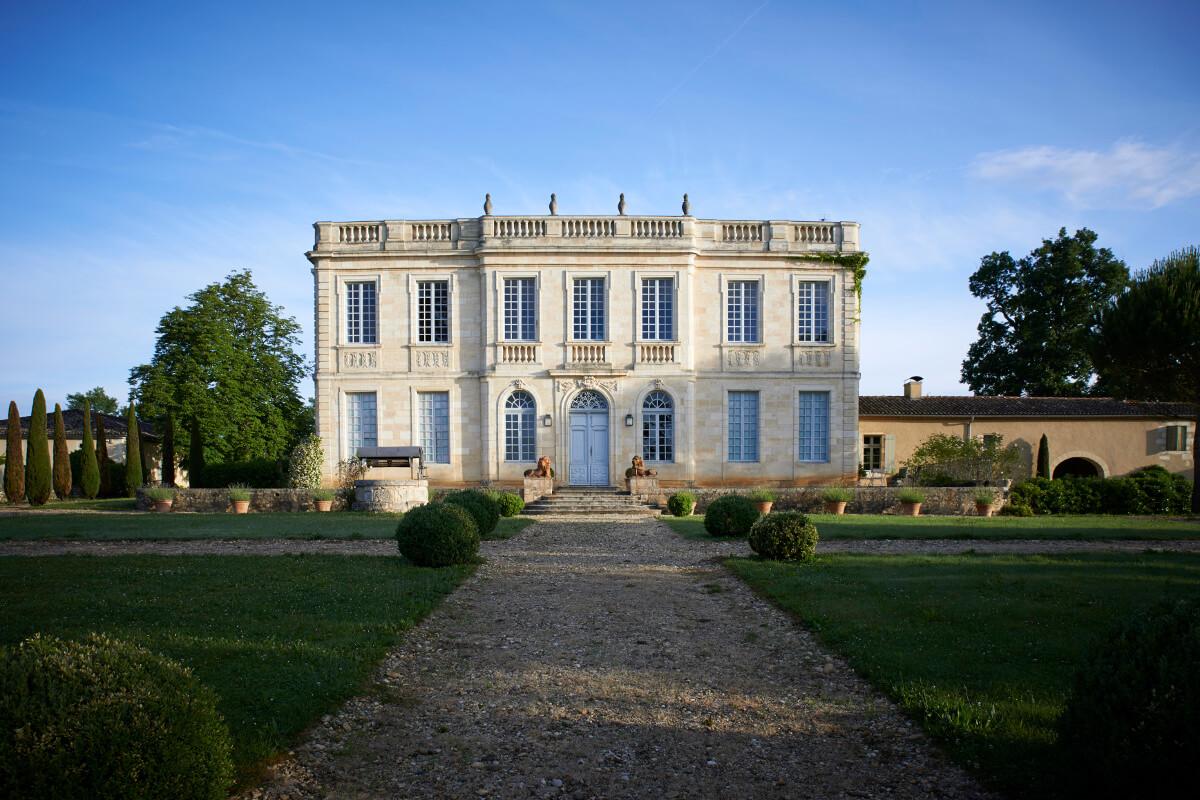 touton architectes - birot - patrimoine - façade jardin