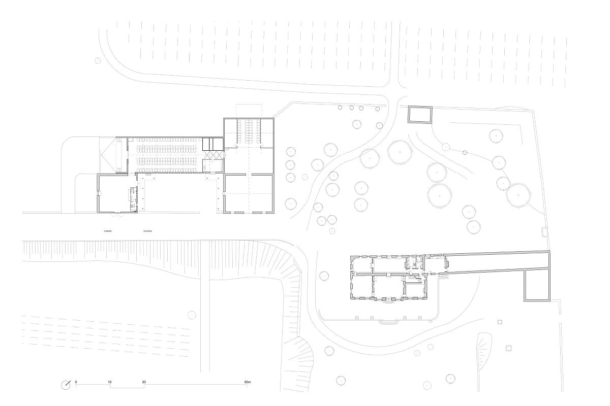 touton architectes - birot - patrimoine - viti vini - plan