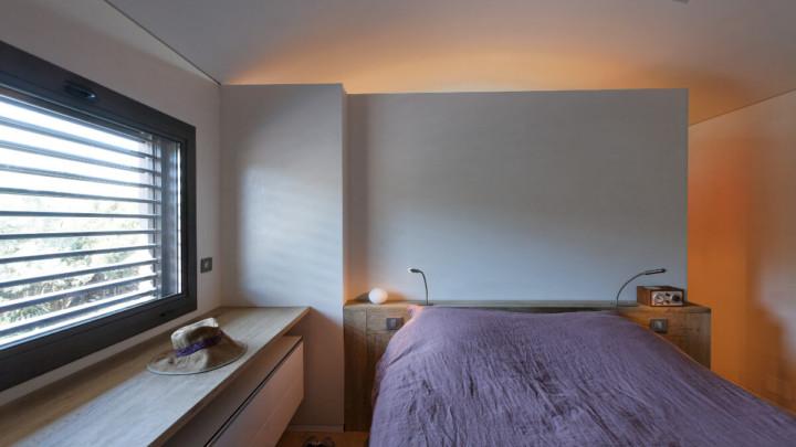 touton architectes - chambre cap ferret - vue de la chambre