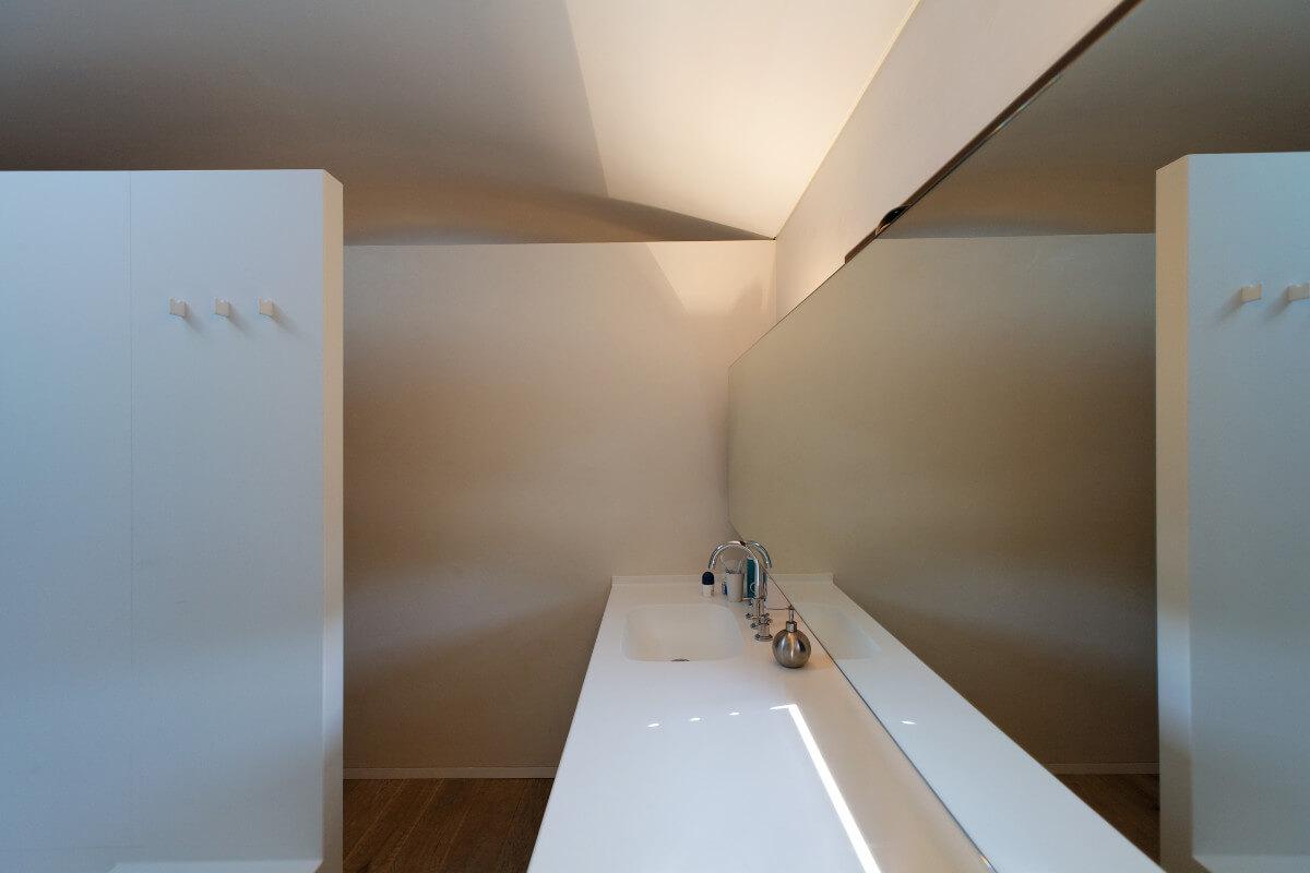 touton architectes - chambre cap ferret - salle de bains - ensemble