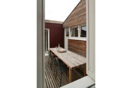 touton architectes - maison - bordeaux - terrasse bois - mobilier bois - bardage bois