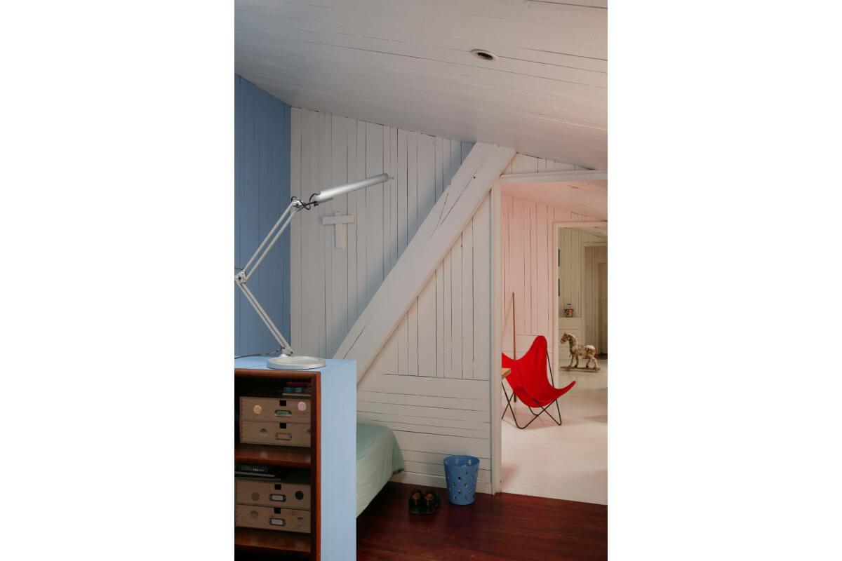 touton architectes - maison - bordeaux - chambres en enfilade - bois
