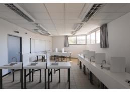 touton architectes - lycée flora tristan - équipement - laboratoire