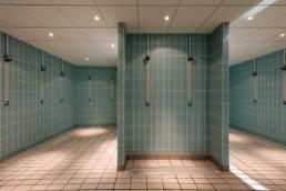 touton architectes - piscine du grand parc - équipement - douches
