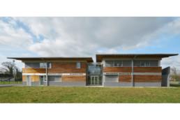 touton architectes - castelnau - maison médicale - façade