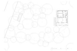 touton architectes - villa genêts - cap ferret - plan