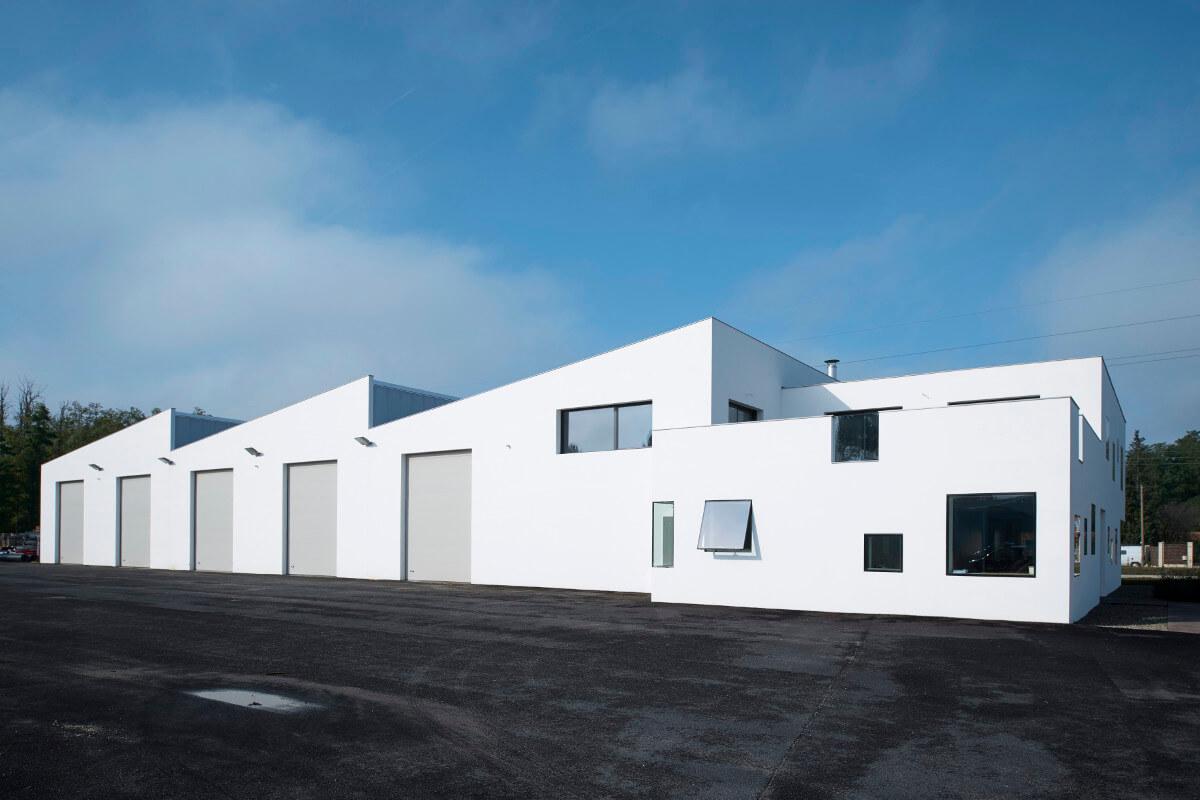 touton architectes - benaben - bureaux - entrepôt