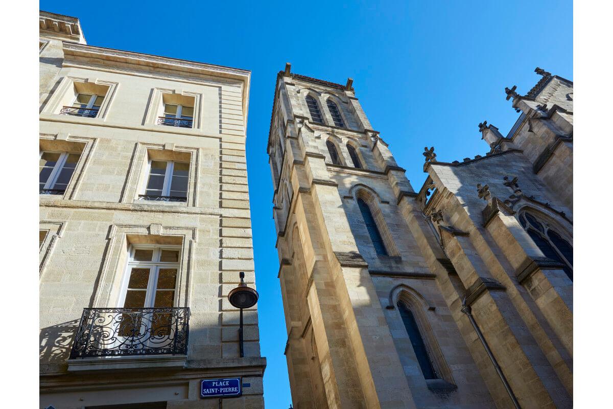 touton architectes - saint pierre - logement collectif - bordeaux - surélevation - patrimoine - croquis - place saint pierre