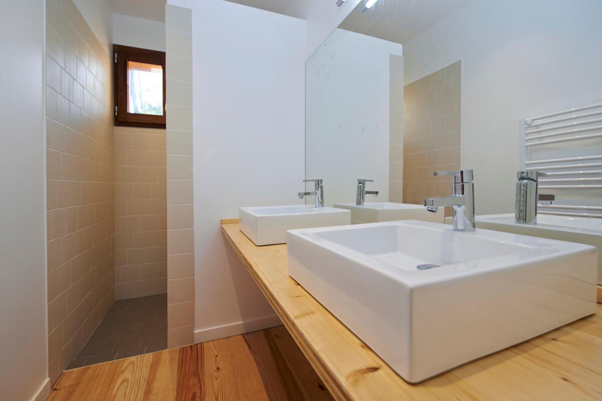 touton architectes - salle de bain - manureva - cap ferret
