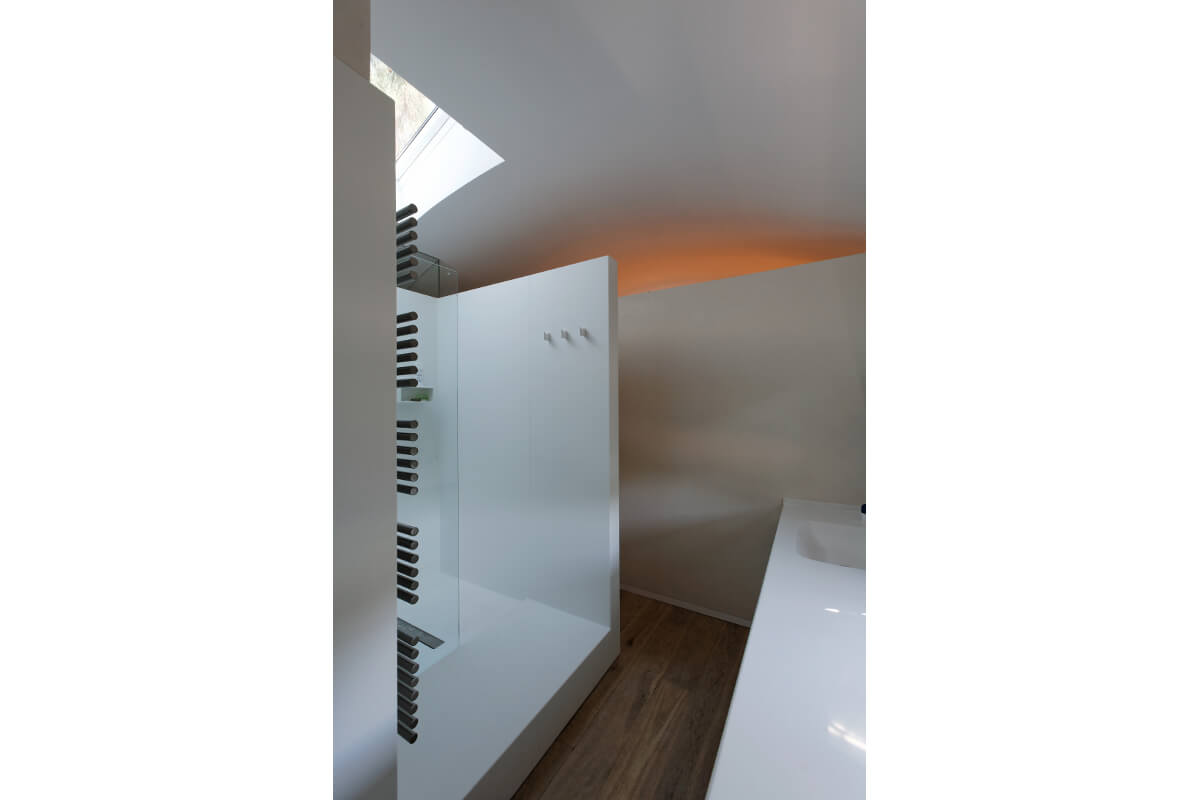 touton architectes - salle de bain - tourterelles - cap ferret