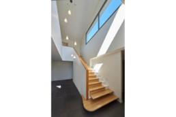 touton architectes - escalier - sur mesure - bois