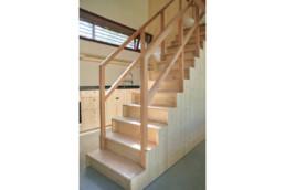 touton architectes - escalier - lugue - cap ferret