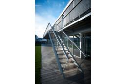 touton architectes - escalier extérieur - touton sa - bordeaux
